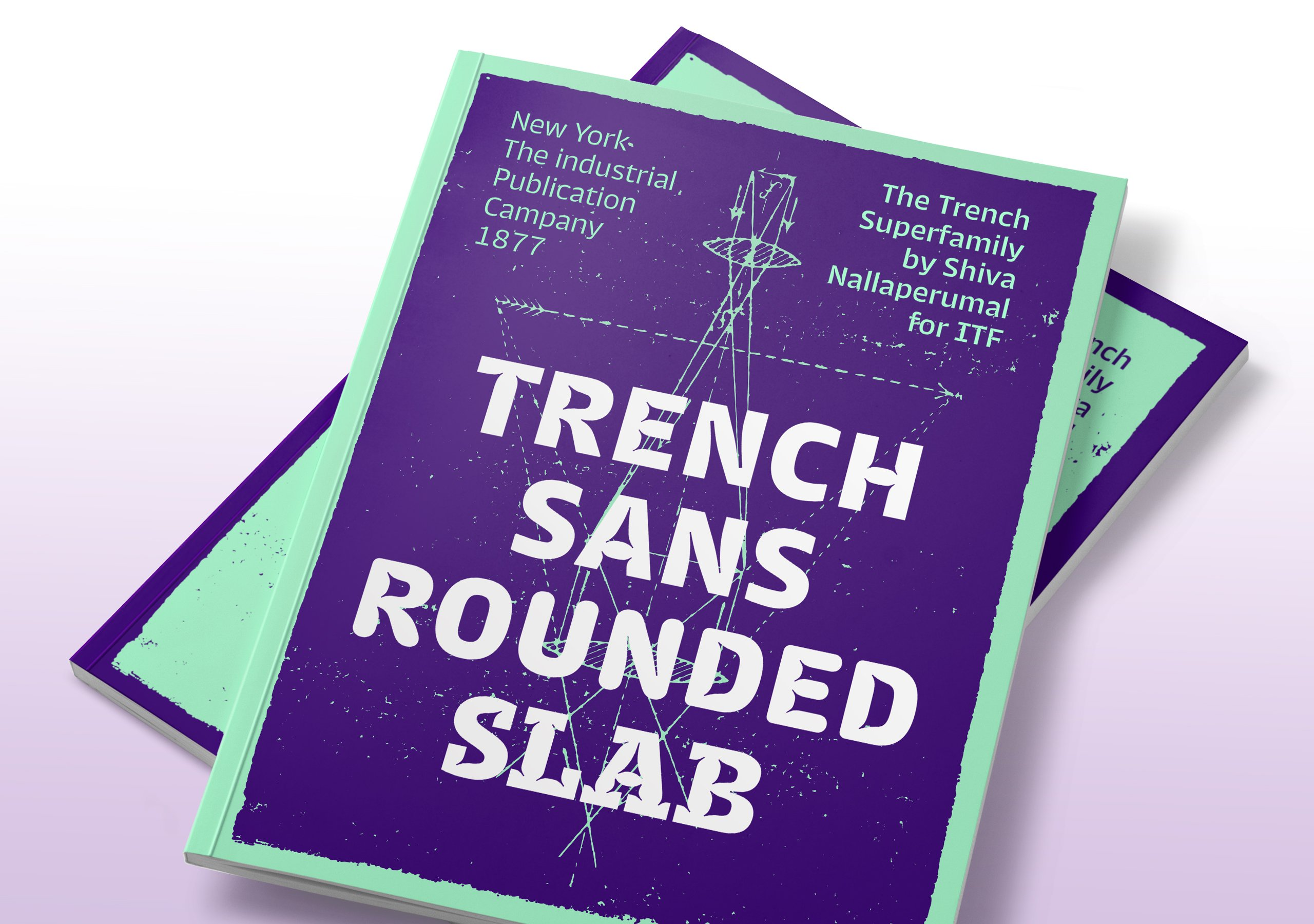 Fictitious use case for Trench Sans by Alexandra Schwarzwald