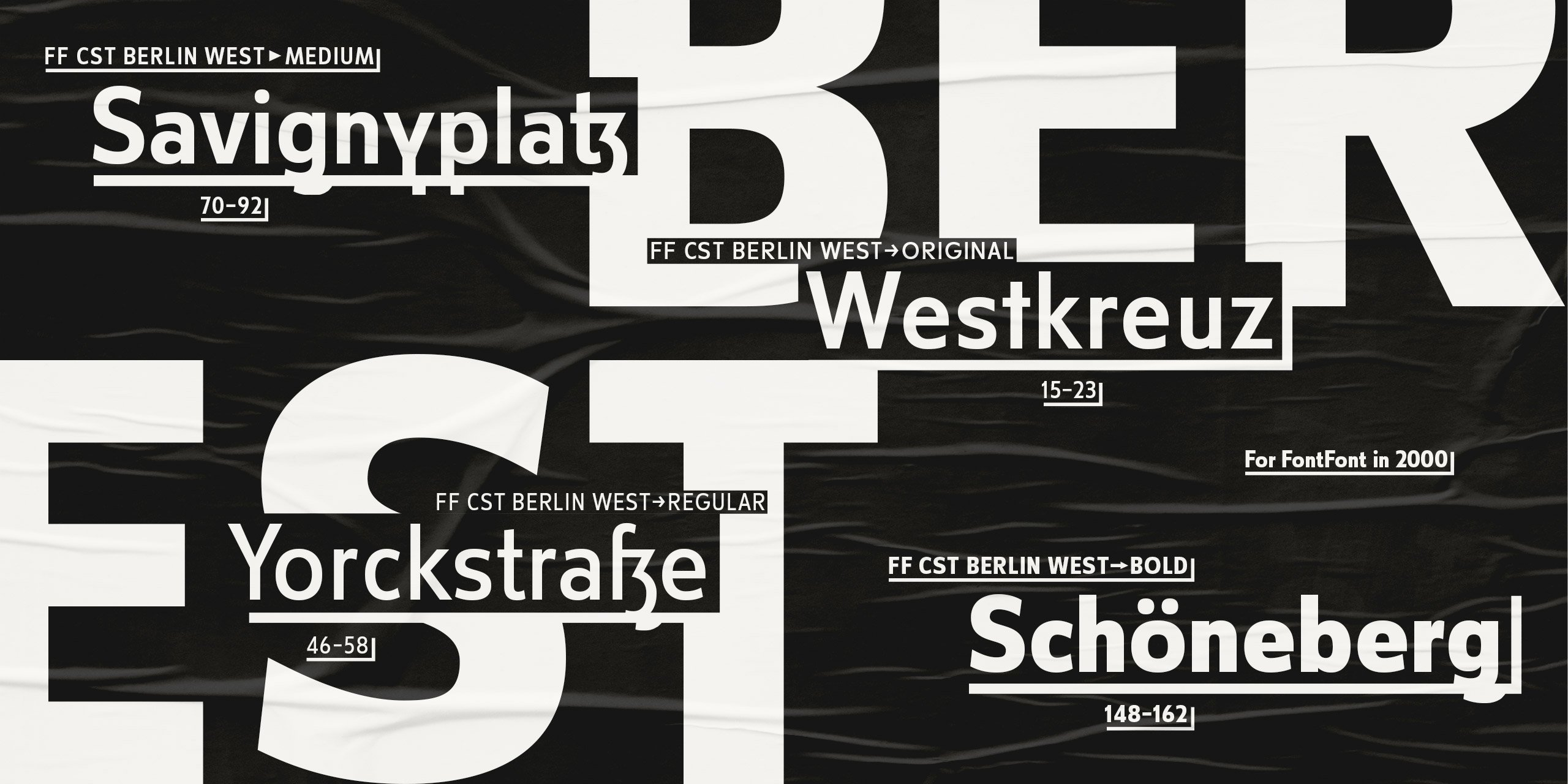 Showing for FF CST Berlin West by Alexandra Schwarzwald