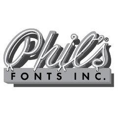 Phil's Fonts