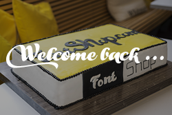 Welcome to the new FontShop