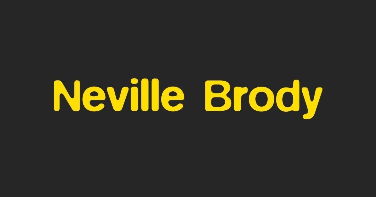 Neville Brody | FontShop