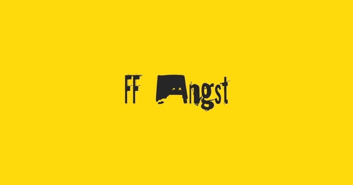 Citaten Angst Ff : Fontshop ff angst