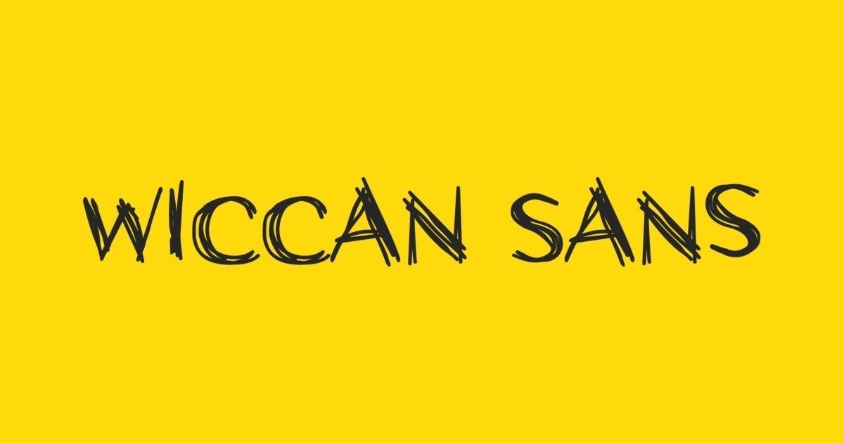 Wiccan Font Fontshop