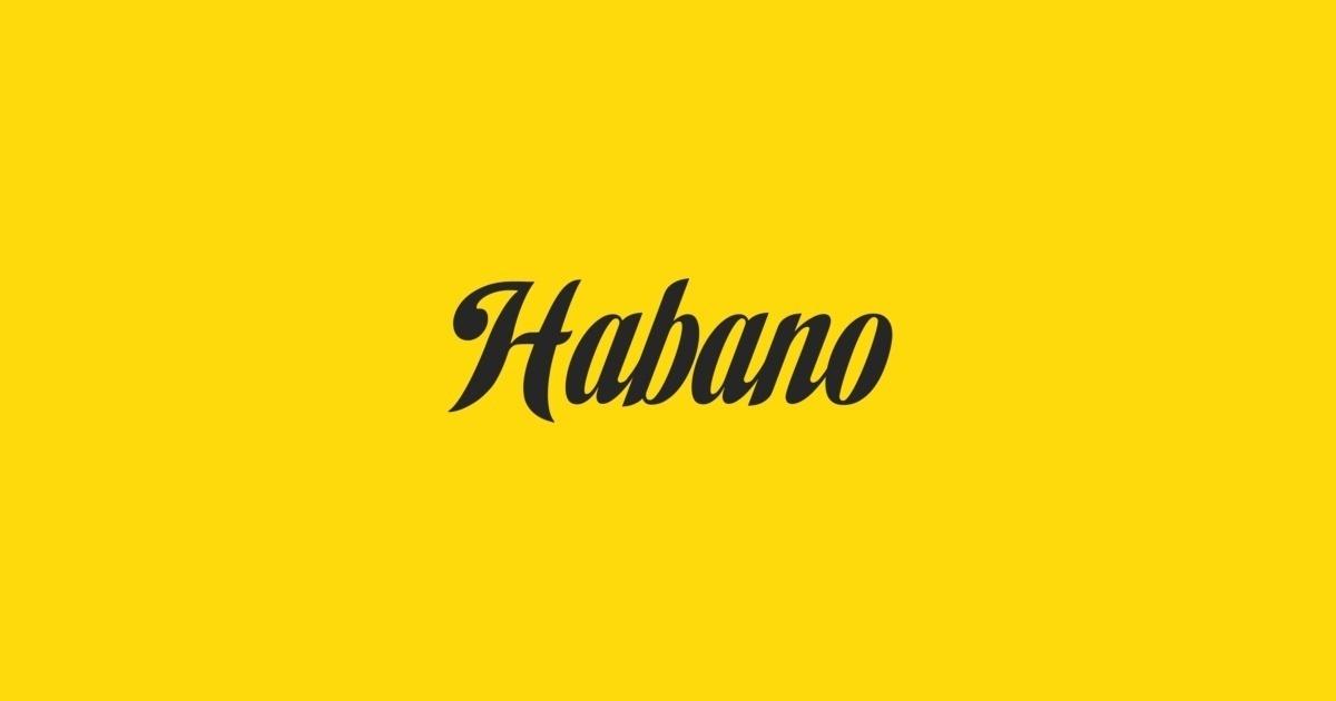 habano std font