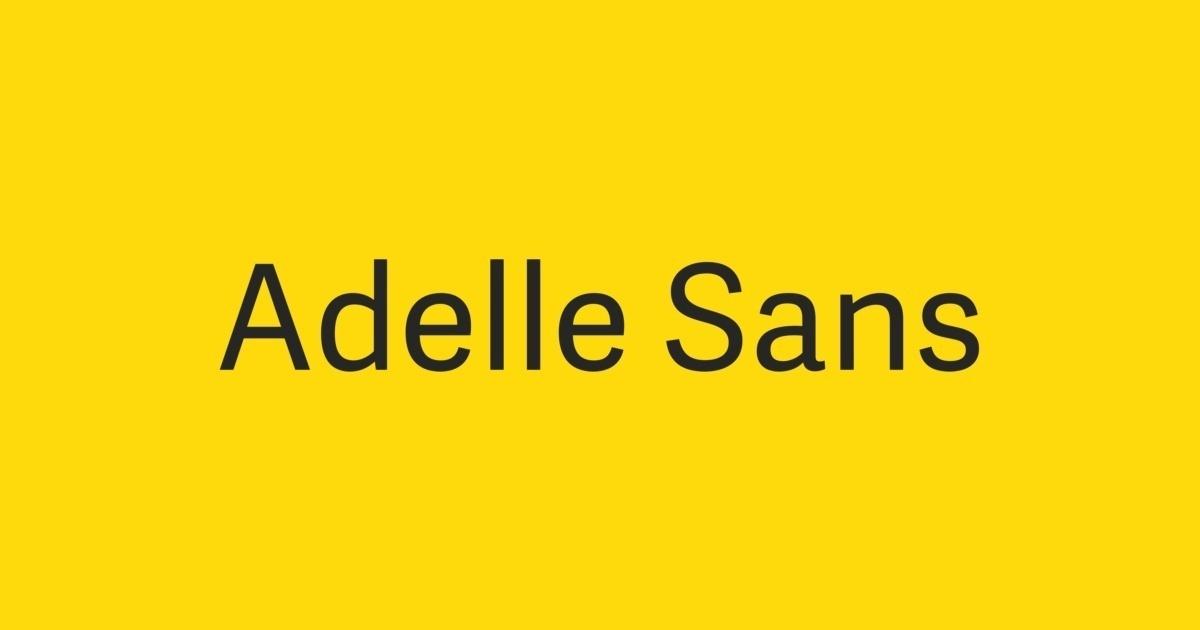 adelle sans bold font free download